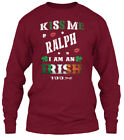 Ralph Kiss Me Im Irish Gildan Long Sleeve Tee T-Shirt