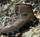 Men's Snow Warm Winter Climbing Hiking Boots High Top Casual Outdoor Plus Size