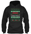 Madison Family Ugly Sweater S - Christmas Gildan Hoodie Sweatshirt