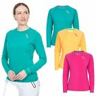 DLX Cali Womens DLX Long Sleeved Top Antibacterial Quick Drying