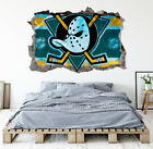 Anaheim Ducks Wall Art Decal Hockey Team 3D Smashed Wall Decor WL01 $24.95 USD on eBay