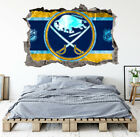 Buffalo Sabres Wall Art Decal Hockey Team 3D Smashed Wall Decor WL03 $24.95 USD on eBay