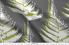 Fern Leaf Modern Natural Urban Nature Large Fabric Printed by Spoonflower BTY