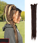 100% Natural Dreadlocks Crochet Braids Sew in Locs Dreads Reggae Hair Extensions