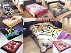 Estuary Soft Bed Blanket Mink Warm Winter Bedding Cover Queen & Full Size New! image