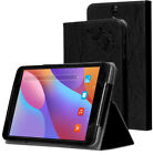 """Print PU Leather Case Stand Cover for 8"""" Chuwi Hi8 Air Tablet with Hand Holder"""