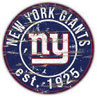 New York Giants Nfl Badge Car Bumper Sticker Decal - 3'' Or 5''