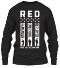Gunshowtees Mens Red Friday Remember Ev - Gildan Long Sleeve Tee T-Shirt
