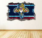 Florida Panthers Wall Art Decal Hockey Team 3D Smashed Wall Decor WL25 $36.95 USD on eBay