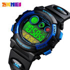 For Boy Girl Kids Waterproof Electronic Alarm Calendar Sport Digital Wrist Watch image