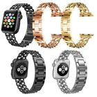 For Apple Watch Series 3/2/1  Band Stainless Steel Chain Wrist Strap Women image