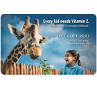 Kyпить Detroit Zoo Gift Card - $25 $50 $100 - Email delivery  на еВаy.соm