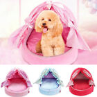 Pet Kennel Sofa Dog Nest Soft Beds Cage Basket With Bow Tie Princess Accessories