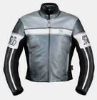 Richa Fazer Ladies Grey Leather Motorcycle Jacket New RRP £199.99!!