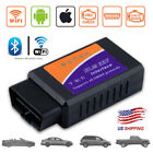 ELM327 WiFi Bluetooth OBD2 Car Diagnostic Scanner Code Reader For Android iOS