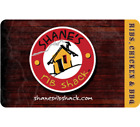 Shane's Rib Shack Gift Card - $25 $50 $100 - Email delivery