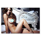 G215 Lucy Pinder - Sexy Star Model Art Poster Silk Cloth / 14x21 20x30''
