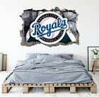 Kansas City Royals Wall Art Decal MLB Baseball Team 3D Smashed Wall Decor WL49 on Ebay