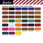 Angelus Leather Dye 3oz Dauber Applicator ALL COLORS Shoes Jackets  Fast Ship