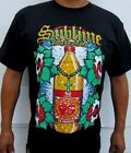 NEW! SUBLIME 40 OZ TO FREEDON BOTTLE LONG BEACH CA PUNK ROCK T-SHIRT image