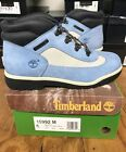 Vintage late 90s Timberland Field Boots men kids baby blue NOT WEARABLE