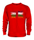CENTRAL AFRICAN REPUBLIC DISTRESSED FLAG UNISEX SWEATER CENTRAFRICAINE