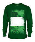 NIGERIA GRUNGE FLAG UNISEX SWEATER TOP NIGERIAN SHIRT FOOTBALL JERSEY GIFT