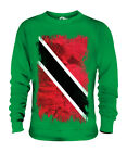 TRINIDAD AND TOBAGO GRUNGE FLAG UNISEX SWEATER TOP TRINIDADIAN TOBAGONIAN GIFT