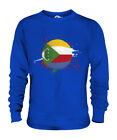 COMOROS FOOTBALL UNISEX SWEATER  TOP GIFT WORLD CUP SPORT