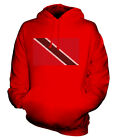 TRINIDAD AND TOBAGO SCRIBBLE FLAG UNISEX HOODIE TOP GIFT TRINIDADIAN TOBAGONIAN