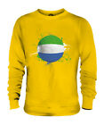 SIERRA LEONE FOOTBALL UNISEX SWEATER  TOP GIFT WORLD CUP SPORT