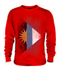 ANTIGUA AND BARBUDA FADED FLAG UNISEX SWEATER TOP ANTIGUAN BARBUDAN SHIRT