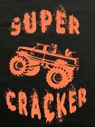 Muddin t-shirt Super Cracker t-shirt Mens  S,M,L,XL,2XL redneck, 4x4 , Mudding