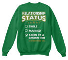 Taken By Hot Luxembourger Girl S - Relationship Hanes Unisex Crewneck Sweatshirt