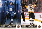 2018-19 UPPER DECK SERIES 1 UD CANVAS INSERT SINGLES #C1-C90 - YOU PICK FOR SET