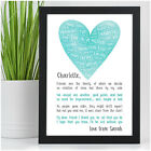 PERSONALISED Best Friend Friendship Poem Christmas Gifts Friendship Sign Present