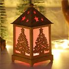 Led Lights For Home Outdoor Christmas Light Cabin Snow House With Light Wooden