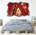Arizona Diamondbacks Wall Art Decal MLB Baseball Team 3D Smashed Wall Decor WL79 on Ebay