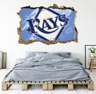 Tampa Bay Rays Wall Art Decal MLB Baseball Team 3D Smashed Wall Decor WL80 on Ebay