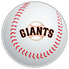 San Francisco Giants MLB Logo Ball Car Bumper Sticker Decal  -3'' or 5'' on Ebay