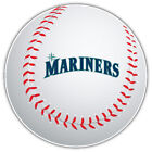 Seattle Mariners MLB Slogan Logo Ball Car Bumper Sticker Decal-9'', 12'' or 14'' on Ebay