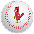 St. Louis Cardinals MLB Angry Bird Logo Ball  Bumper Sticker - 9'', 12'' or 14'' on Ebay
