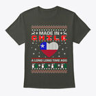Made In Chile Christmas Ugly Sweater Hanes Tagless Tee T-Shirt