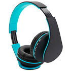 Foldable FM Stereo Sports MP3 Player Wired Bluetooth Noise Canceling Headphones
