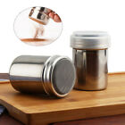 Hot Stainless Steel Chocolate Shaker Icing Sugar Powder Flour Coffee Sifter UK
