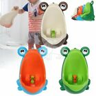 Kids Baby Toddler Boy Frog Potty Urinal Pee Toilet Travel Home Training lu