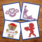 Happy Valentines Day - 19 Machine Embroidery Designs  Love Hearts  Teddy Bear