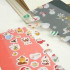 Stationery Decorative Label Japanese Style Paper Stickers Christmas Santa Claus