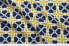 Portuguese Interior Design Portugal Napkins Fabric Printed by Spoonflower BTY