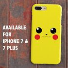 Pokemon Pikachu Face for iPhone Case XS MAX XR etc